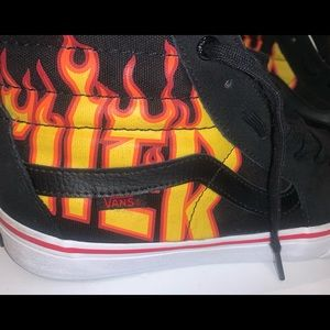 Vans off the wall trasher high tops men's sz 10